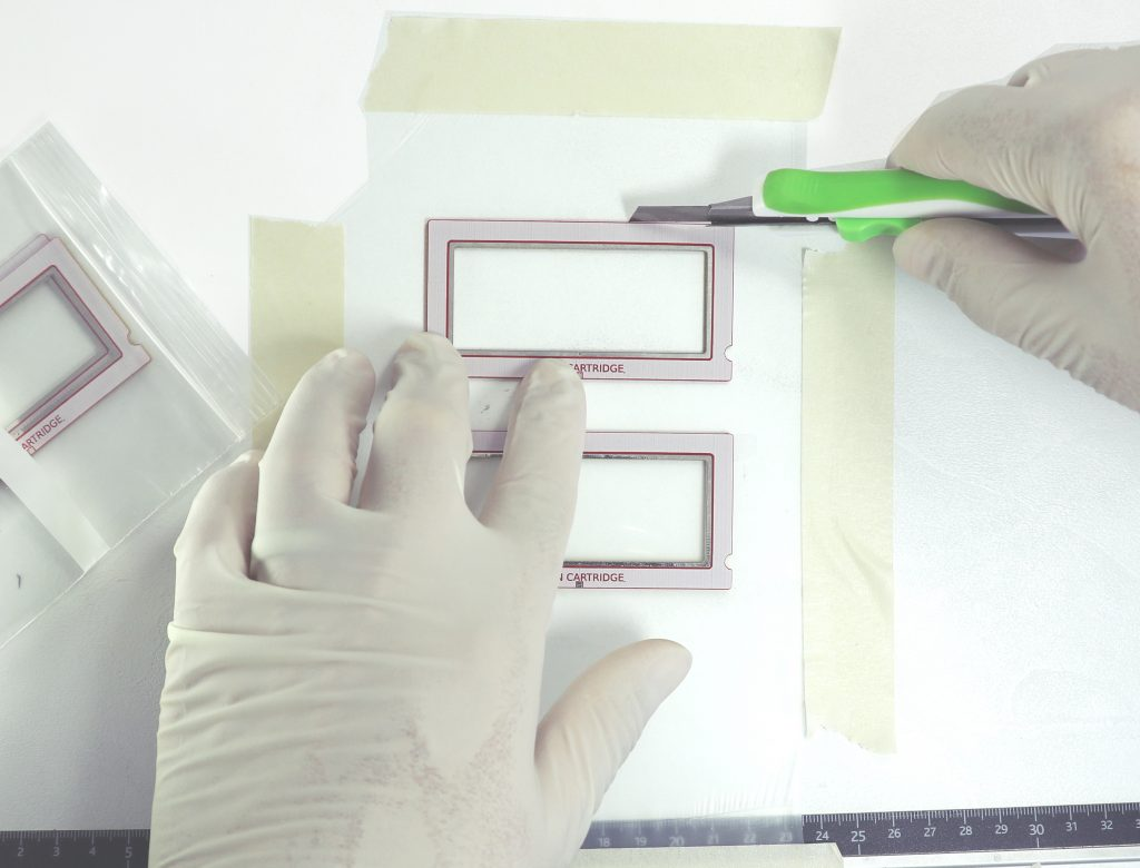Cutting OpenDrop frames