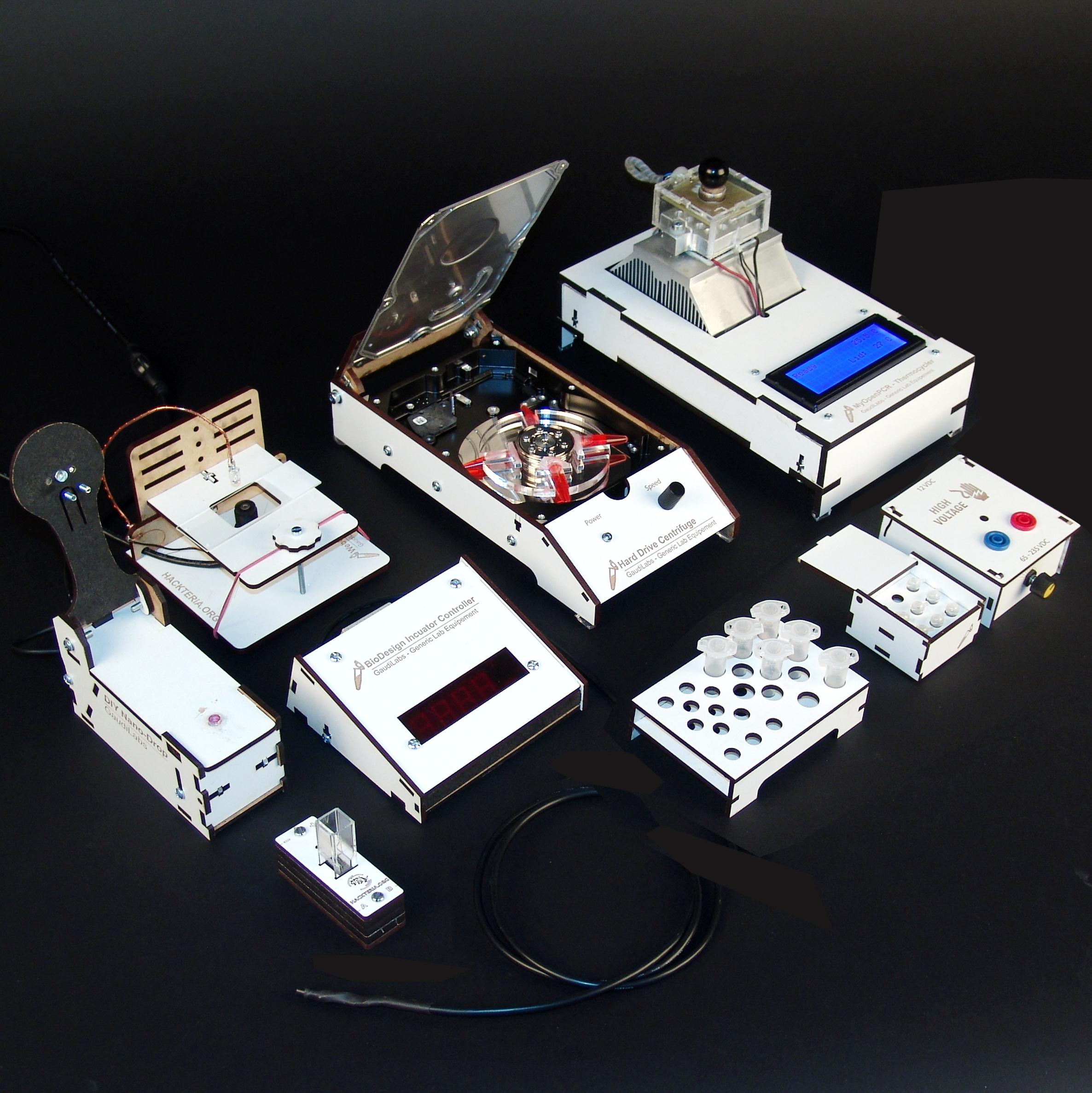 Generic Lab Equipment by GaudiLabs